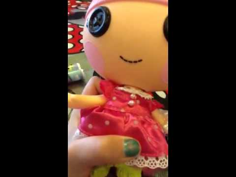 Trinket Sparkles LaLaLoopsy doll review