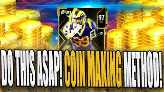 BEST NEW COIN MAKING METHOD! DO THIS NOW! FAST MUT COINS! MADDEN 20 COIN METHOD | MADDEN 20