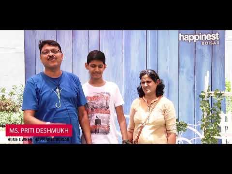 Mahindra Happinest Boisar - Mrs. Priti Deshmukh Testimony