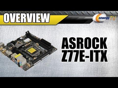 Newegg TV: ASRock Z77E-ITX LGA 1155 Intel Z77 Motherboard Overview