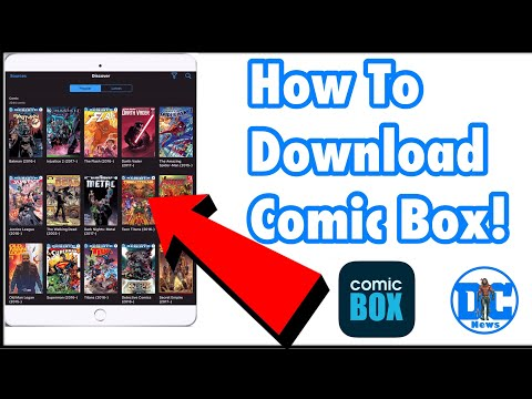 Free Marvel comics and other comic books application for