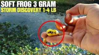 Ultralight Fishing With Micro Soft Frog