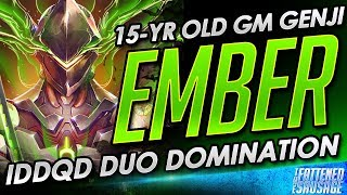 Ember Duos w/ IDDQD, Goes CRAZY and Gets Carried