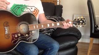 I STOPPED TO FILL MY CAR UP-THE STEREOPHONICS-TUTORIAL