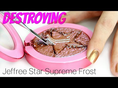 Destroying the Jeffree Star Supreme Frost | THE MAKEUP BREAKUP