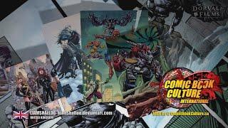 Comic Book Culture, Graphic Artist Archive Presentation