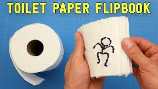 Toilet Paper FLIPBOOK Challenge