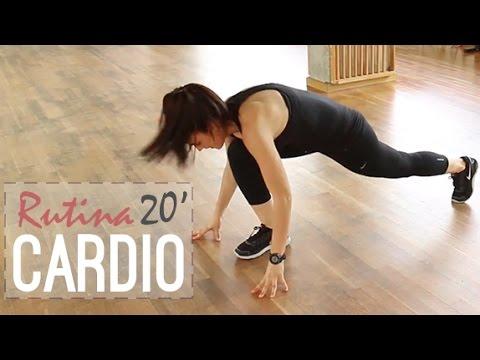 Rutina de cardio 20 minutos para perder peso