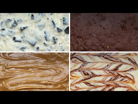3-Ingredient Fudge 4 Ways