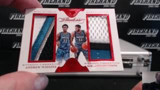 2015-16 Panini Flawless Basketball 1 Box Break Random Players #8 + 3 Immac Case Spots