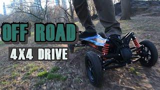 Unboxing CYCLEAGLE All-Terrain Off-Road E-Skateboard