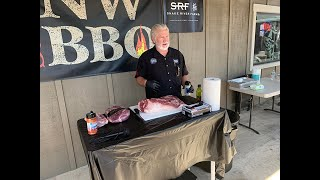 Myron Mixon - BBQ Brisket Demonstration 5/11/19