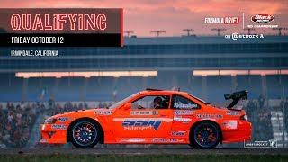 Formula Drift Irwindale 2018 - Qualifying LIVE!