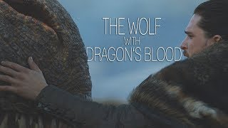 (GoT) Jon Snow || The Wolf With Dragon