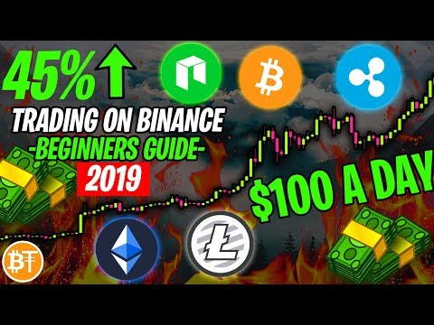 HOW TO Cryptocurreny Day Trading On Binance 2019 (Beginners)