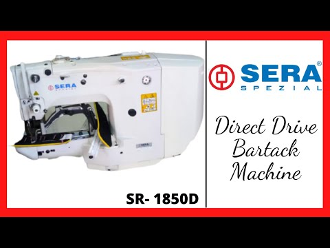 Bartack Direct Drive Sewing Machine