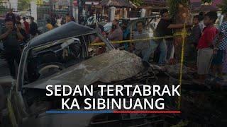 KA Sibinuang dan Sedan Tabrakan, Insiden di Perlintasan Rel Simpang Nan Tongga Kota Pariaman