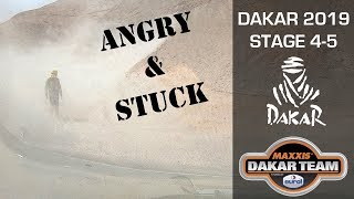 Dakar 2019, Angry & stuck; TnT Coronel do the marathon stages in Peru 1