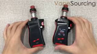 SMOK MAG KIT with TFV12 Prince 225W   gaming controller- or gun-like form factor