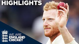 Stokes Takes 6-22 As Wickets Tumble | England v West Indies 3rd Test Day 1 2017 - Highlights