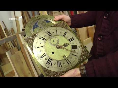 Historisches Schmuckstück – Franz Xaver Beer restauriert Standuhr aus der Goethe-Zeit!