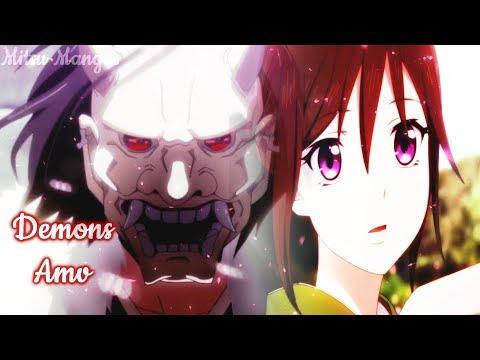 Nightcore French Amv ♪ Demons ♪ + Paroles HD
