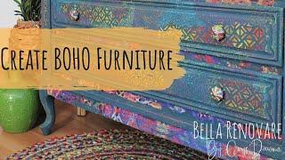 Boho Painted Furniture