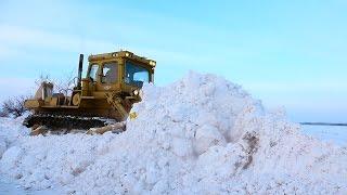 Через снежные заносы 330 лошадей!