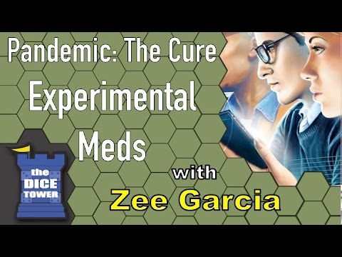 Pandemic: The Cure - Experimental Meds Review - with Zee Garcia