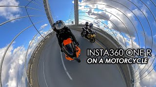 Should you use a 360 Camera on a Motorcycle? Insta360 ONE R