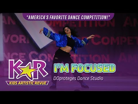 """I'm Focused"" from DOproteges Dance Studio"
