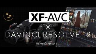 XF-AVCワークフローセミナー ~DaVinci Resolve12 Studio編~
