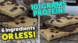 How To Make Quick Baked PROTEIN Bars
