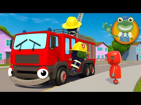 Big Truck Nursery Rhymes | Kids Songs | Gecko's Garage