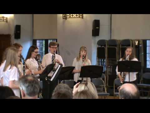 Hava Nagila - Joint Sr Clarinet Choir (May Serenade 2017)