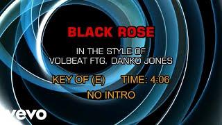 Volbeat   Black Rose Ft. Danko Jones  (Karaoke)