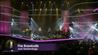 The BaseBalls - Pokerface, Ayo Technology And Jungle Drum (Live @ Echo 2010)