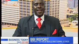 Report recommends unity in Kenya  BBI REPORT