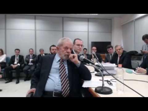 2º depoimento de Lula a Sérgio Moro, veja vídeo