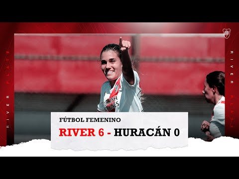 RIVER 6 - HURACÁN 0 [RESUMEN Y GOLES]