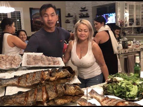Bong Generalបរិភោគអាហារជាមួយមិត្តភក្តិនៅLas Vegas USA .      Dinner With Friends in Las Vegas