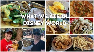 Disney World Quick Service Meals | What We Ate | Restaurant Reviews | FALL 2019