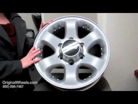 I-280 Rims & I-280 Wheels - Video of Isuzu Factory, Original, OEM, stock new & used rim Co.
