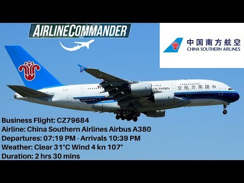 China Southern Airlines Airbus A380 - (PEK) Beijing 🇨🇳 🛫 🛬 🇨🇳 (CAN) Guangzhou