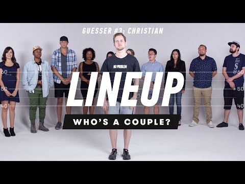 Christian Guesses Who's a Couple from a Group of Strangers