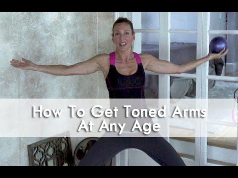 Flabby Arms/Bat Wings ~ Arm Toning Workout for Mature Women