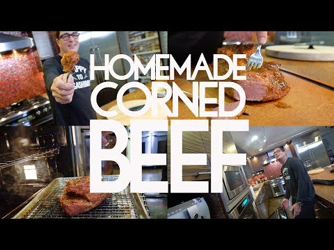 Corned Beef for St. Patty's | SAM THE COOKING GUY