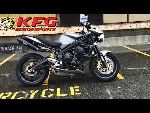 2009 Triumph Street Triple R in Auburn, Washington - Video 1