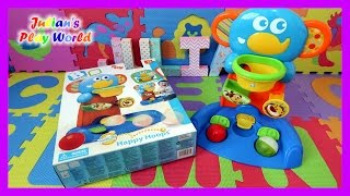 B Kids Rolling 'n Blinking Happy Hoops | Baby Toy Review | Julian's Play World
