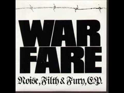 Warfare - Burning Down The King's Road online metal music video by WARFARE